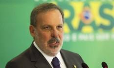 Senador Armando Monteiro (PTB-PE), ministro do Desenvolvimento, Indústria e Comércio Exterior Foto: Jorge William / Agência O Globo