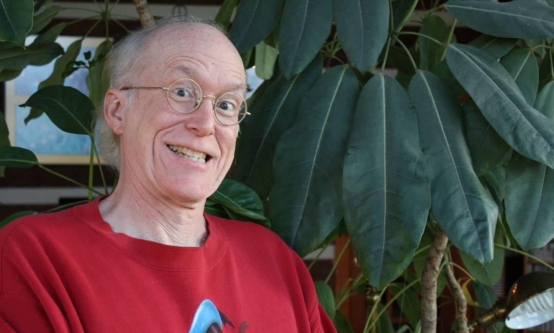 O americano Don Rosa Foto: Jano Rohleder / Divulgação
