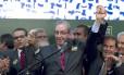 Eduardo Cunha (PMDB-RJ) lança candidatura à presidência da Câmara