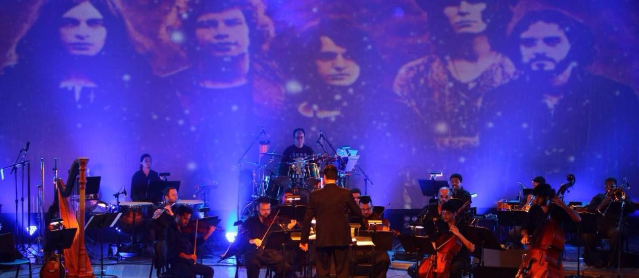 Orquestra de Solistas do Rio de Janeiro apresenta versões de clássicos do rock progressivo Foto: Nelson Schumacher / Divulgação