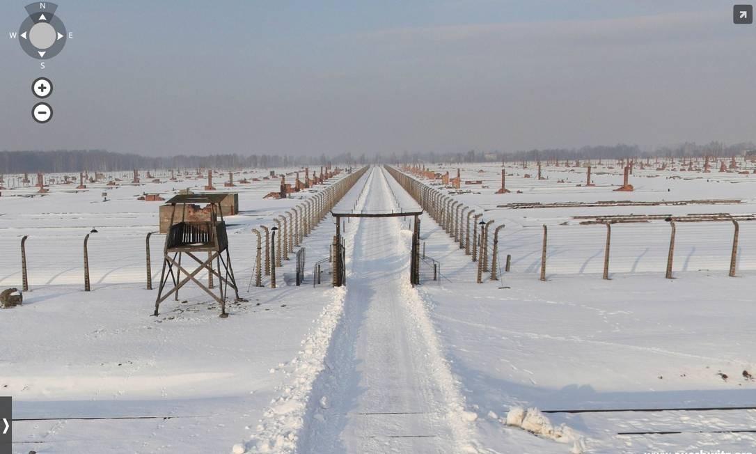 Visita virtual às instalações de Auschwitz proporciona novo olhar sobre os campos Foto: Reprodução / Auschwitz.org