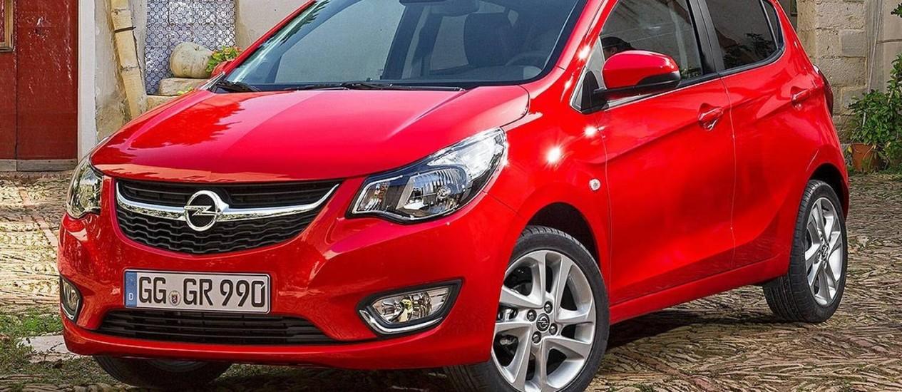 Opel Karl Foto: Divulgação