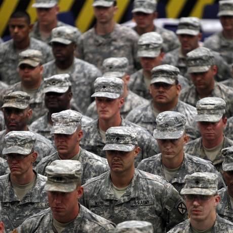 Exército americano tem sofrido com baixas Foto: Lucas Jackson / REUTERS