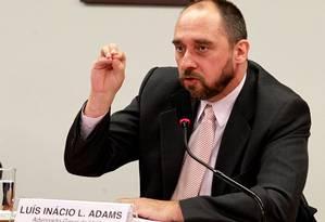 Advogado-geral da União Luís Inácio Adams Foto: Ailton de Freitas / Agência O Globo