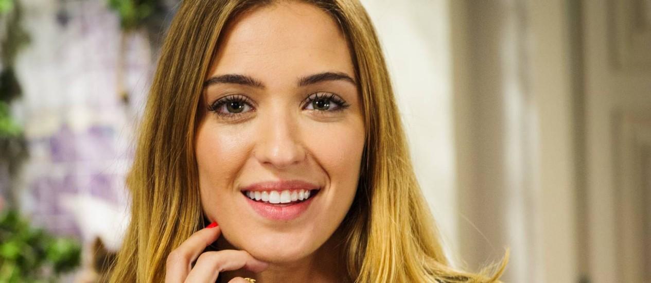 Juliana Boller defende a postura de sua personagem, Bianca, em 'Império' Foto: Alex Carvalho / TV Globo