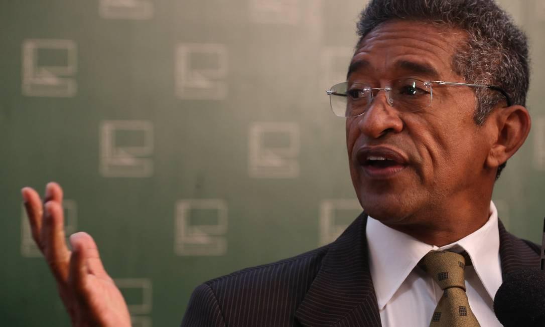 O deputado Vicentinho (PT-SP) na Câmara dos Deputados Foto: Ailton de Freitas / O Globo