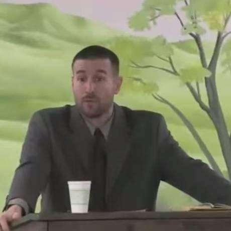 Pastor é acusado de pregar o ódio diurante sermão Foto: Reprodução / YouTube