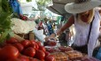 Feira livre em Ipanema, Zona Sul do Rio