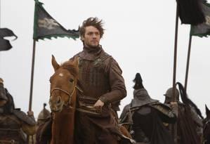 Lorenzo Richelmy em cena de 'Marco Polo' Foto: Phil.Bray / Divulgação