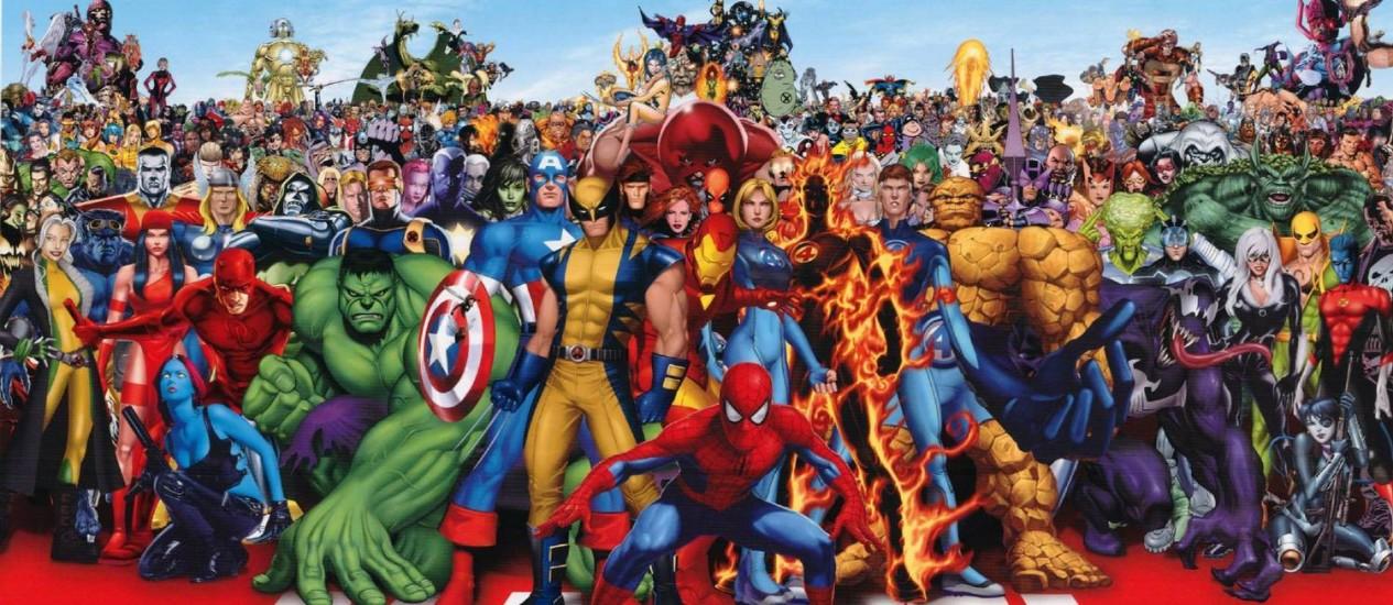 Marvel Comics Foto: Divulgação
