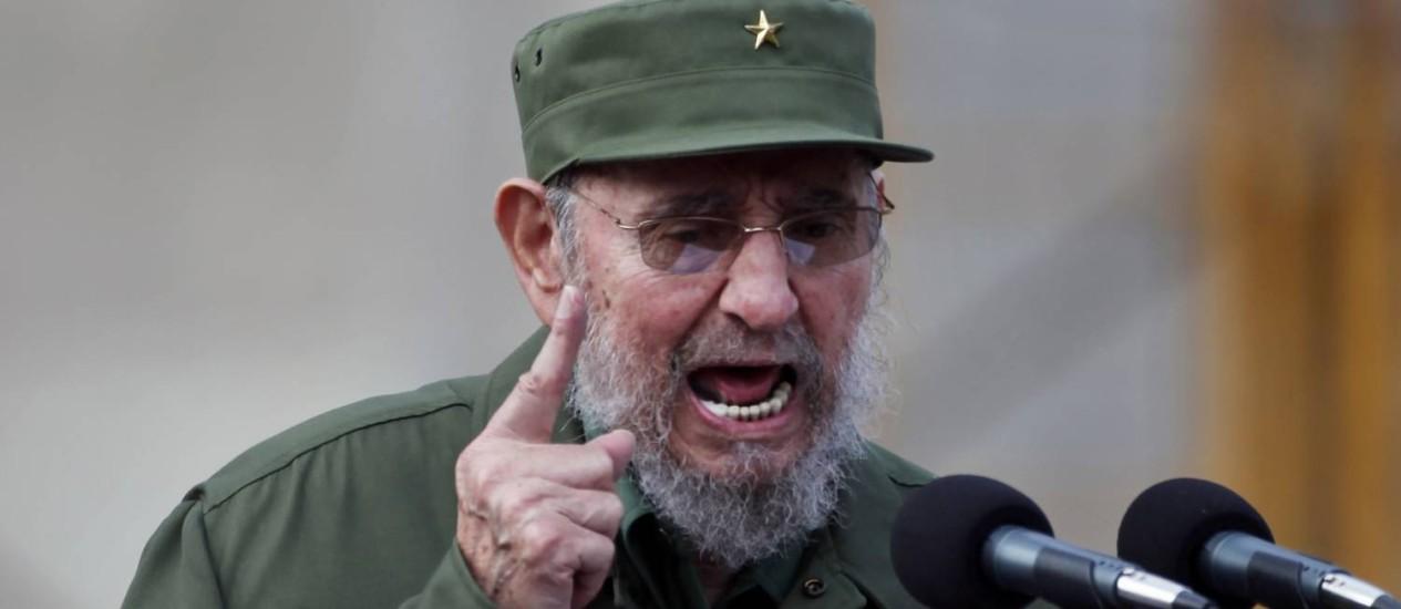 Com a saúde mais estável, Fidel celebra em setembro de 2010 o 50º aniversário do Comitê de Defesa da Revolução Foto: Javier Galeano / AP