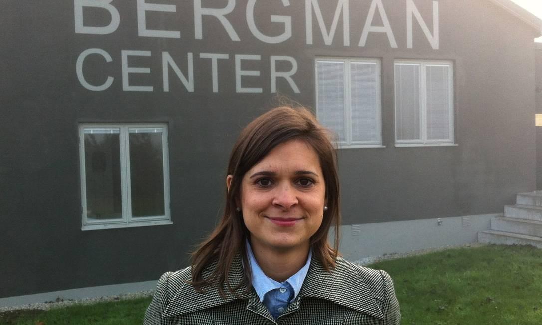 Helen Beltrame-Linné, a brasileira que assumiu a direção do Bergman Center Foto: Magnus Ihreskog / Divulgação