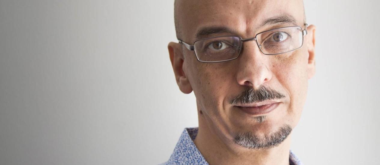 O jornalista e escritor Sérgio Rodrigues Foto: Simone Marinho