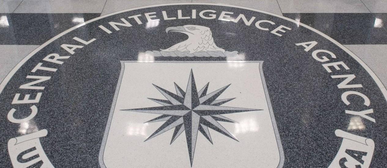 Entrada da sede da CIA, em Langley, Virginia. Divulgação de relatório pode gerar represálias violentas, afirmam republicanos Foto: SAUL LOEB / AFP