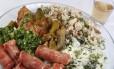 Gordura em excesso é um dos principais problemas no prato do brasileiro