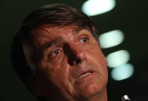 Deputado Jair Bolsonaro ofendeu parlamentar Foto: André Coelho / Agência O Globo