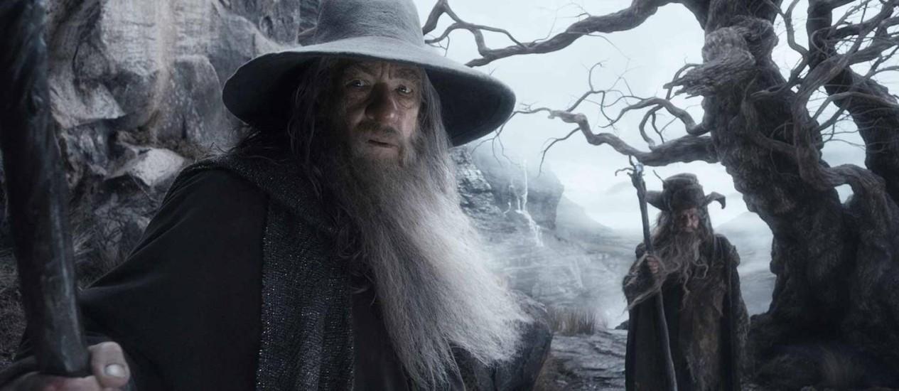 Ian McKellen como Gandalf Foto: Divulgação