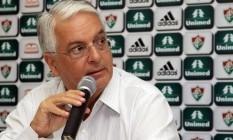 Celso Barros, presidente da Unimed-Rio Foto: Nelson Perez / FluminenseF.C./Divulgação