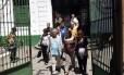 Integrantes da Comissão da Verdade visita instalações do 1º Batalhão de Polícia do Exército, na Tijuca, onde funcionou o Doi-Codi, em setembro