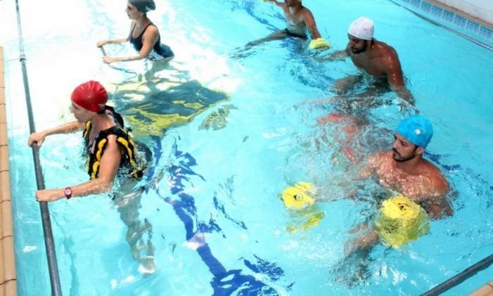 Aqua Cross promete um alto gasto de calorias Foto: Divulgação