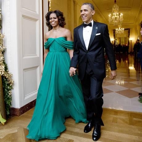Barack e Michelle Obama: romance vira longa Foto: Manuel Balce Ceneta / AP