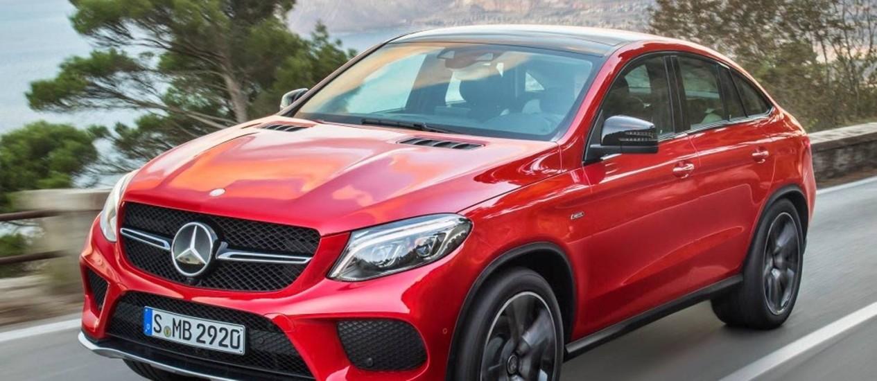 Mercedes GLE 450 Coupé AMG Foto: Divulgação