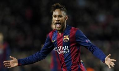Neymar já marcou 33 gols pelo Barcelona Foto: ALBERT GEA / REUTERS