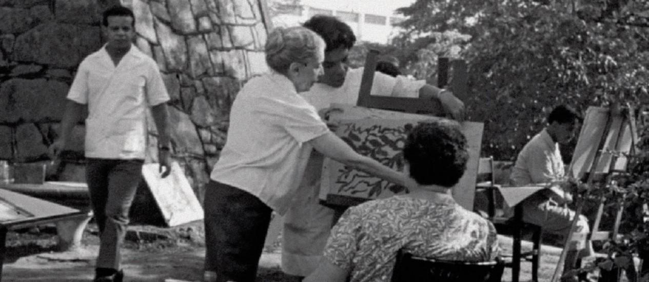 Imagem do arquivo pessoal de Nise da Silveira: fotobiografia abrange infância em Alagoas até a sua morte Foto: SAMII / Arquivo Nise da Silveira