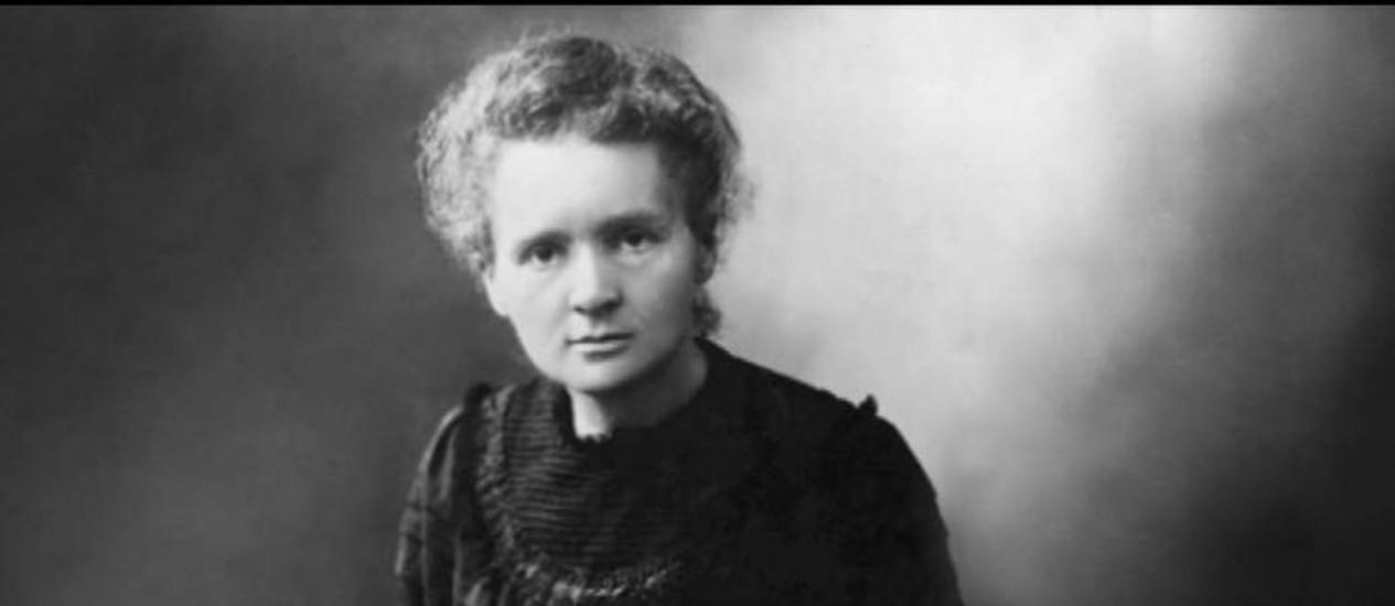 MARIE CURI. Física recebeu carta de solidariedade de Albert Einstein Foto: Arquivo