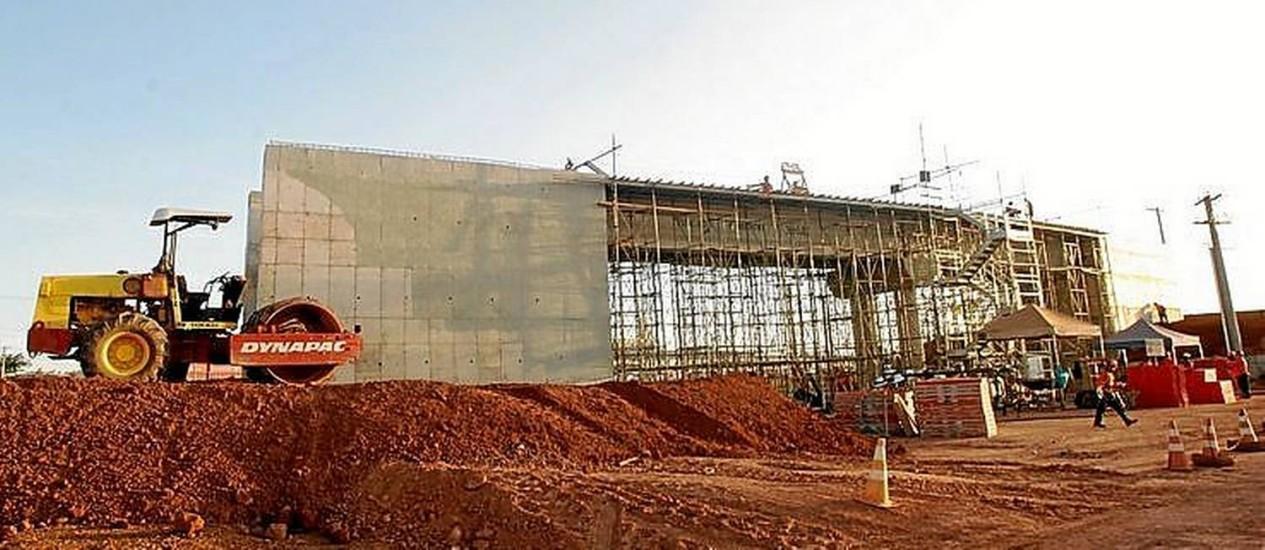 Ritmo lento. Ferrovia Norte-Sul: obras de infraestrutura serão afetadas Foto: Ailton de Freitas