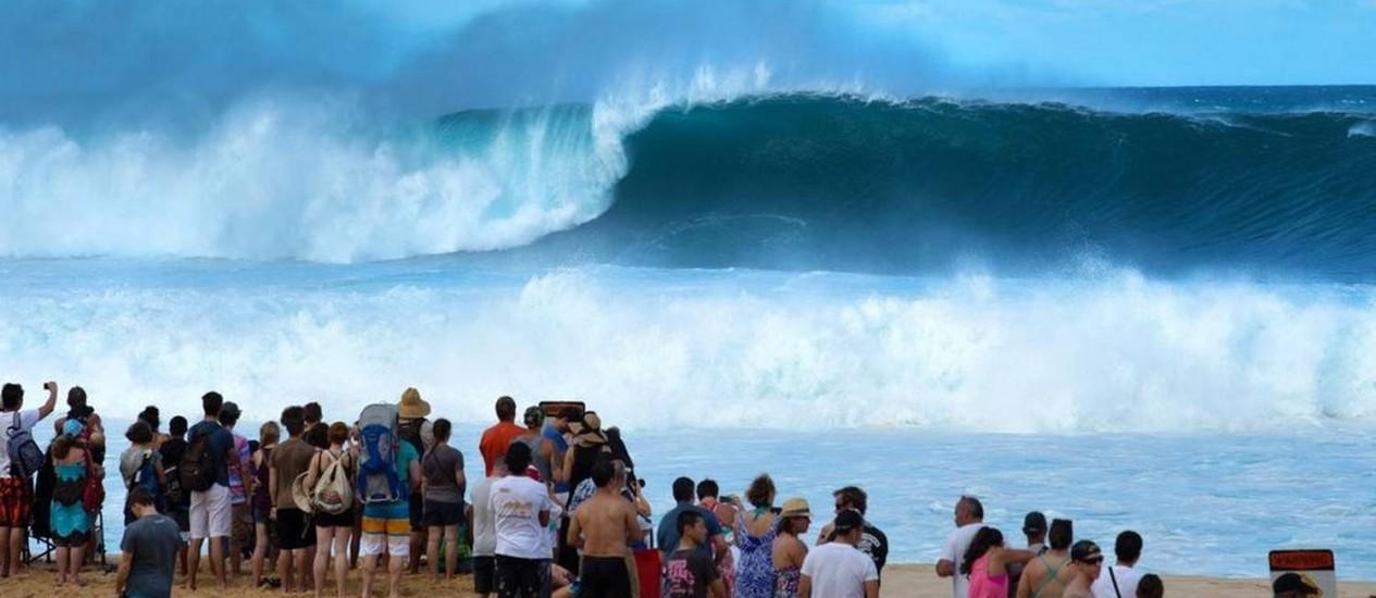 Pipeline, no Havaí Foto: Divulgação/ASP