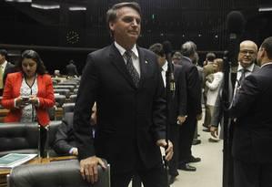Caso do deputado Jair Bolsonaro será analisado pelo STF Foto: Givaldo Barbosa / Agência O Globo