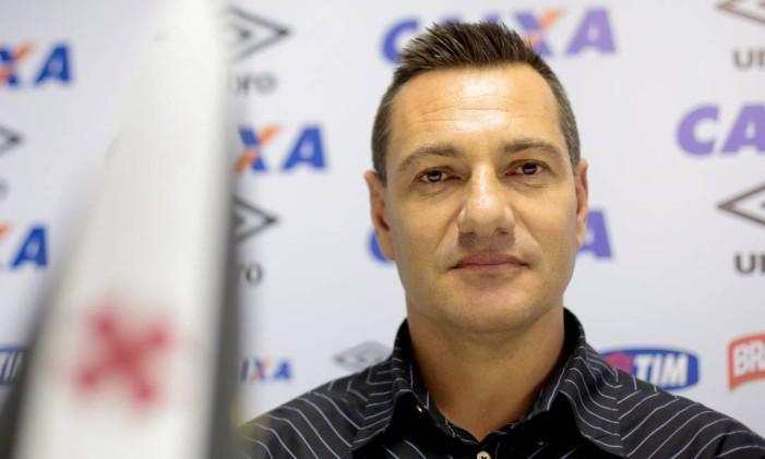Doriva conta com os dois jogadores que comandou no Ituano na nova fase no Vasco Foto: Pedro Kirilos / O Globo