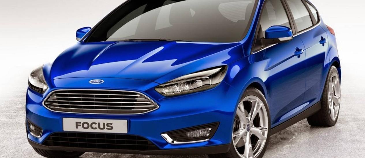Ford Focus 2015 Foto: Divulgação