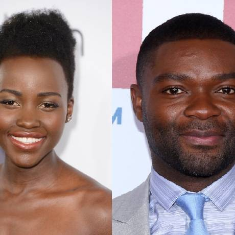 """Lupita Nyong'o e David Oyelowo: casal atuará em """"Americanah"""" Foto: Reprodução"""