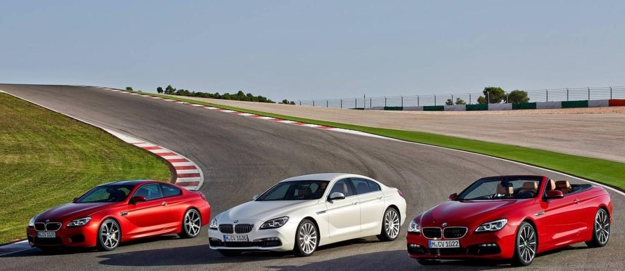 BMW Série 6 2015 Foto: Divulgação