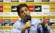 René Simões disse estar diante do maior desafio da carreira no Botafogo