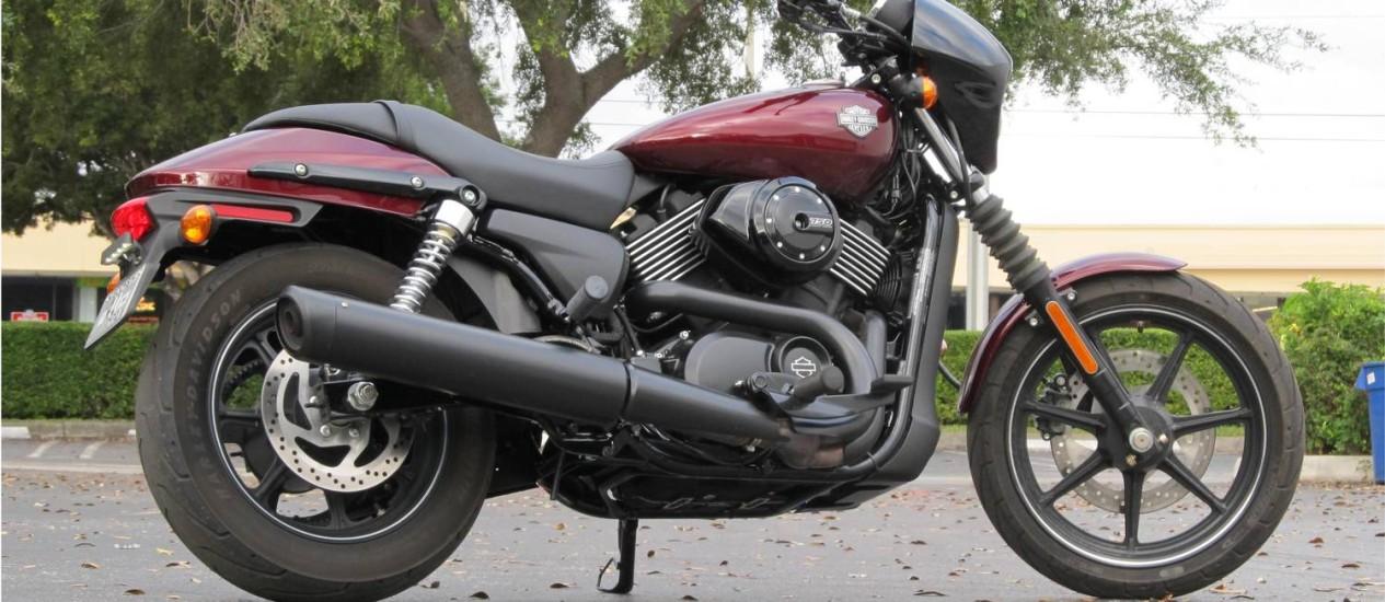 CA - 11/12/2014 - Harley-Davidson Street 750 - Roberto Dutra Foto: Roberto Dutra