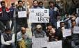 Motoristas pedem pela volta do serviço na Índia