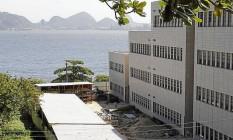 Novo campus. Quase todos os prédios novos do Campus Praia Vermelha serão entregues em 2015 Foto: Agência O Globo / Pedro Teixeira