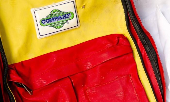 A clássica mochila da Company Foto: Bia Guedes / Agência O Globo
