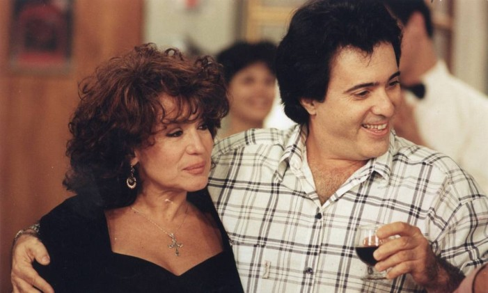 Tony com Susana Vieira em 'A próxima vítima' Foto: Guto Costa / Divulgação