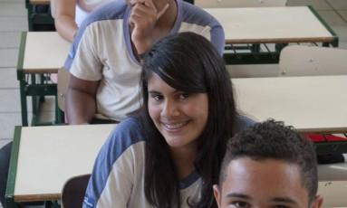 Alunos do Colégio Estadual Almirante Tamandaré, em Niterói, elegem a Matemática como a disciplina mais difícil de aprender Foto: Agência O Globo