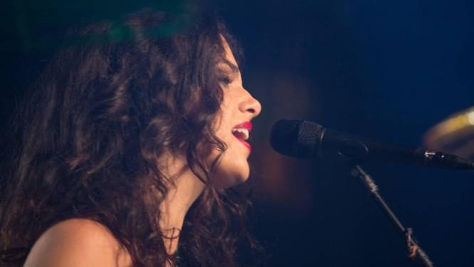 A cantora Céu, na última sexta-feira, no Circo Voador Foto: Divulgação/Haroldo Saboia / Divulgação