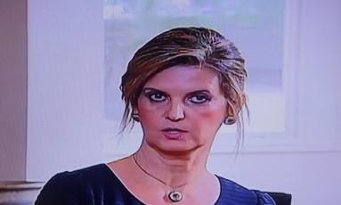 Venina Velosa fala ao 'Fantástico' que entregou denúncias na área de Comunicação a Graça Foto: Agência O Globo