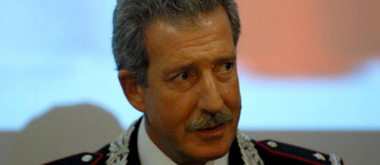 General Mario Parente liderou Operação Águia Negra, que prendeu 14 suspeitos de pertenecerem a rede de extrema-direita na Itália Foto: Reprodução/Internet