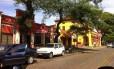 A Rua Manoel Ribas, em Santa Felicidade, onde ficam localizados os restaurantes