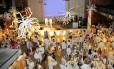 Festa da virada. O réveillon de 2014 no salão de festas do TTC: organizadores querem repetir o sucesso