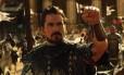 """O ator Christian Bale em cena de """"Êxodo — Deuses e reis"""""""