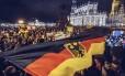Em Dresden mais de 17 mil manifestantes participam de protesto contra a presença de refugiados muçulmanos